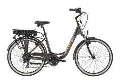 Rower elektryczny EcoBike Trafik Grey 28