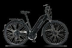 Rower elektryczny EcoBike S-Cross L - czarny