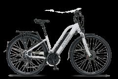 Rower elektryczny EcoBike S-Cross L - biały