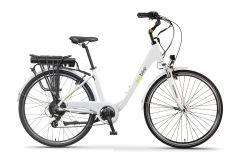 Rower elektryczny EcoBike Trafik white Pro