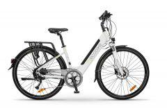 Rower elektryczny EcoBike X - Cross L white