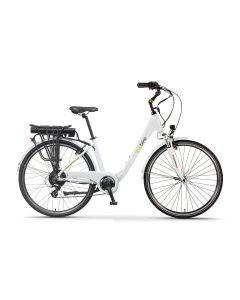 Rower elektryczny EcoBike Trafik white