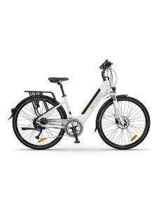 Rower elektryczny EcoBike X - Cross white